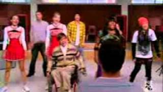 Glee - Lean On Me.3gp