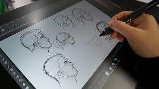 My Tutorial Workflow | Pencil + Paper Vs. Cintiq Pro 16
