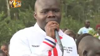 MIGORI BY-ELECTION : 27 year old FPK candidate Eddy Oketch giving ODM the jitters