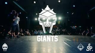 Reza vs Conni | BBoying Quarterfinal | Giants 2016
