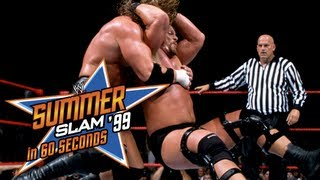 SummerSlam in 60 Seconds: SummerSlam 1999