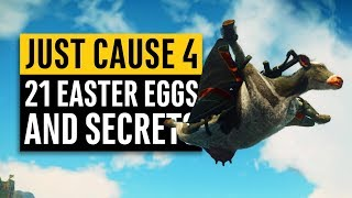 Just Cause 4 | 21 Secrets and Easter Eggs