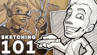 How to SKETCH Like a PRO! - Tools, Tips and Tricks!
