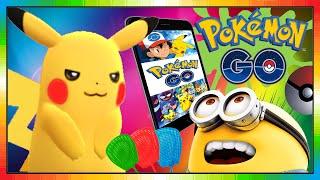 POKEMON GO ( Minion the POKEMON Hunter ) - Pokedex 025 - Pikachu - ピカチュウ - 피카츄