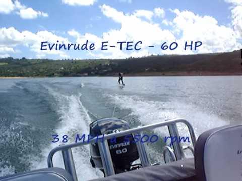 Levefort Malibu 16 Evinrude E TEC 60 HP