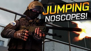 CS:GO - Pro Jumping NOSCOPES (Fragmovie)