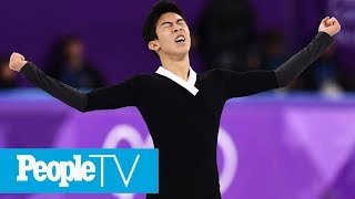Nathan Chen Explains How He Pulled Off His Historic 6 Quadruple Jumps At The Olympics   PeopleTV