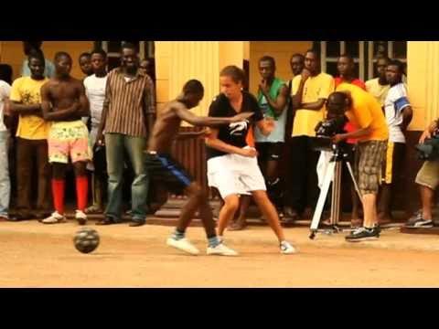Edgar Davids Street Soccer World Tour 13 Kumasi Ghana HD