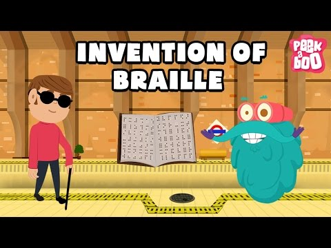 Invention Of BRAILLE Language Of The Blind The Dr. Binocs Show Best Learning Video for Kids