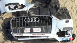 Brand new Audi car found floating in Kovalam Beach | Tamil Nadu | News7 Tamil |