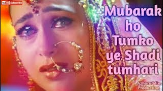 Mubarak ho tumko ye sadi dj remix song||  video edt by parwez alam