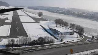 Eisstoß 2017 Vilshofen - Passau Luftaufnahme - Segl Karl und Bernd Nachreiner