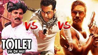 Toilet Ek Prem Katha FAILS TO BEAT Ek Tha Tiger & Singham