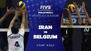 Iran v Belgium highlights - FIVB World League