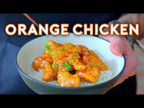 Binging with Babish Sugar Chicken from Rick & Morty
