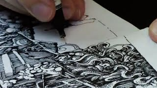 Intricate Doodle Masterclass: Watch and Learn with Peter Draws