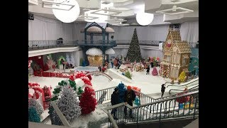 A winter wonderland in Northridge Mall