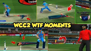 WCC2 NEW BIG UPDATE | HIDDEN FEATURES | WCC2 VERY FUNNY BUGS || FULL BUG GAMEPLAY || #WCC2WTFMOMENTS