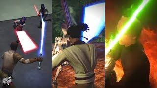 Which Star Wars Game Had the Best Lightsaber Combat?