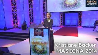Kristiane Backer   MAS ICNA 2014