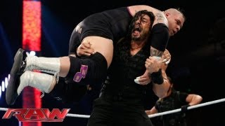 Tons of Funk vs. The Shield: Raw, July 8, 2013