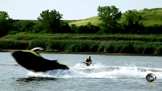 Wakeboarding with a Remote Controlled Watercraft