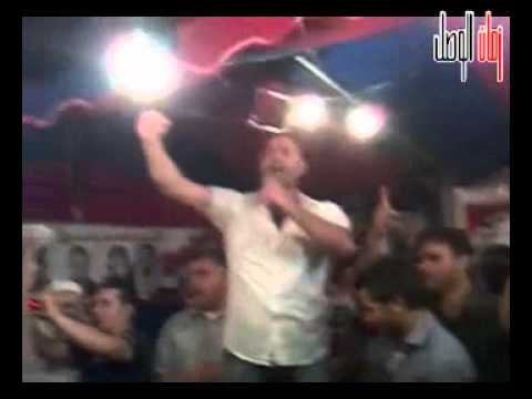 نجم باب الحارة يهتف عاشت سوريا ويسقط بشار الأسد