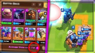 WHAT HAPPENS IF YOU USE THE MOST EXPENSIVE DECK in Clash Royale!