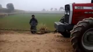 Agriculture machine in pakistan(MF 4*4 385 vs MTZ 50)