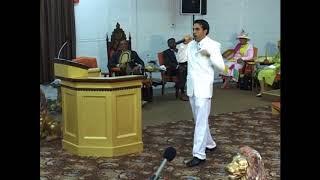 David Golshan Preaching In Church
