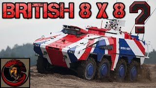 British Army 8X8 Infantry Fighting Vehicle? BOXER IFV