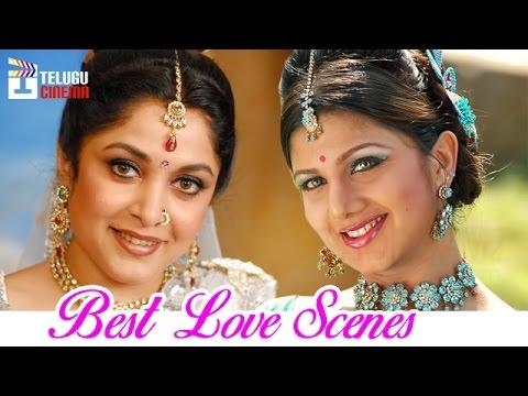 Ramya Krishna & Rambha Bathing in Lake | Chiranjeevi | Alluda Majaka Telugu Movie | Telugu Cinema