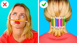 FUNNY SCHOOL SUPPLY DIYS    How to Sneak Gummy Food in Class with 123 GO! GOLD!