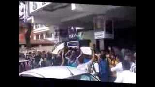 Singam 2 Tamil Movie First Day Releasing @ EKM ( Promote Video of an Upcoming movie
