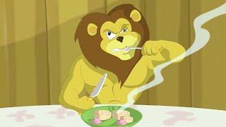 Eena Meena Deeka | Jantar dos Leões | Desenhos animados para crianças| WildBrain em Português