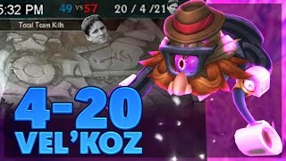 DANK 420 VEL'KOZ GAME | FULL AP VEL'KOZ SUPPORT | BunnyFuFuu