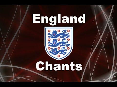 England's Best Football Chants Video | HD W Lyrics