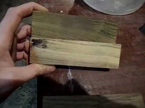 Как сделать мореный дуб домашних условиях