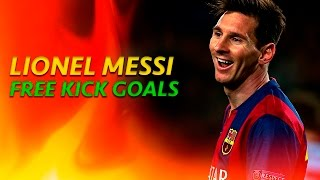 Lionel Messi ● All Free Kick Goals ● 2015/2016
