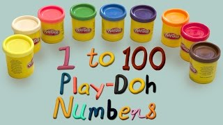 Numbers Song   Learn Numbers 1 to 100   Play Doh Numbers