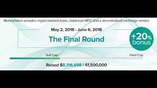 MoneyToken ICO reviews| MoneyToken — a blockchain-based financial ecosystem