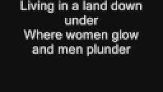 Men at Work - Land Down Under (with Lyrics)