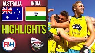 Australia v India | 2018 Men's Hockey Champions Trophy FINAL | HIGHLIGHTS