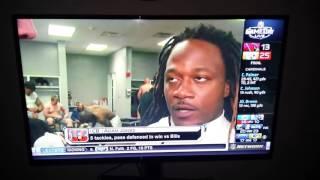 Adam Jones interview NFL network shows players nude