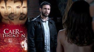Raquel y Santiago caen en tentación   Caer en tentación - Televisa