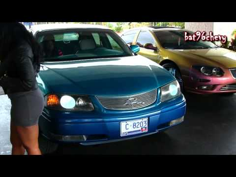 Female s Candy Teal Impala on 26 DUB Esinem SL Floaters Pt.2 1080p HD