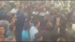 """Lying Rouhani, Where Is Our Zayandeh River""-Iranian Civilians & Farmers During Friday Prayers"