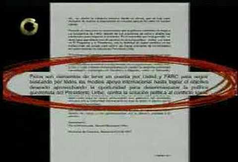 Lo que chavez no leyo de la carta de Marulanda