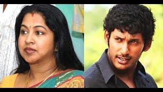 Radhika wishes to Vishal and Nadigar Sangam debt clears