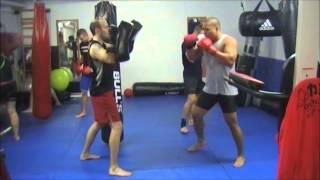 Exemples entrainement technique MMA